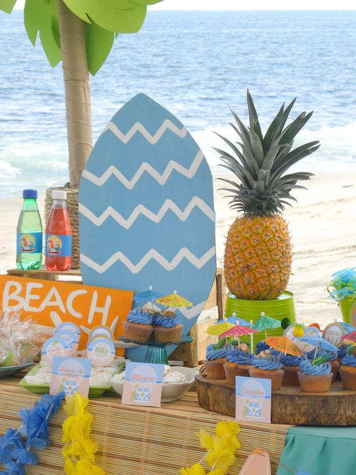 Surfin Safari Surf Themed Birthday Party Beach Party