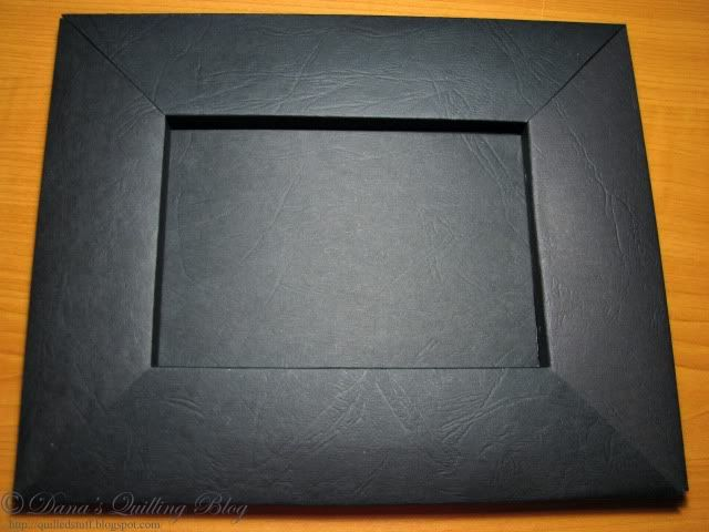 how to make a picture frame from cardboard