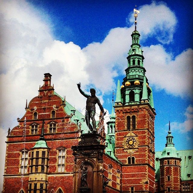 #Frederiksborg in Hillerød, favourite #palace of mine.