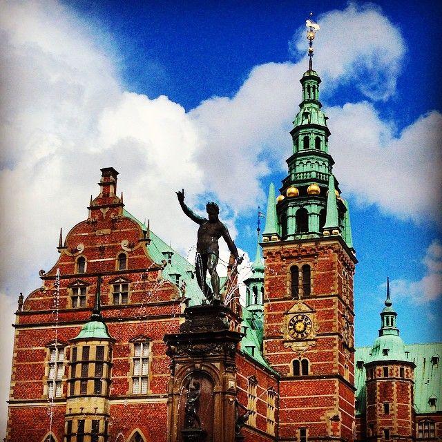 #Frederiksborg in Hillerød, favourite #palace of mine.