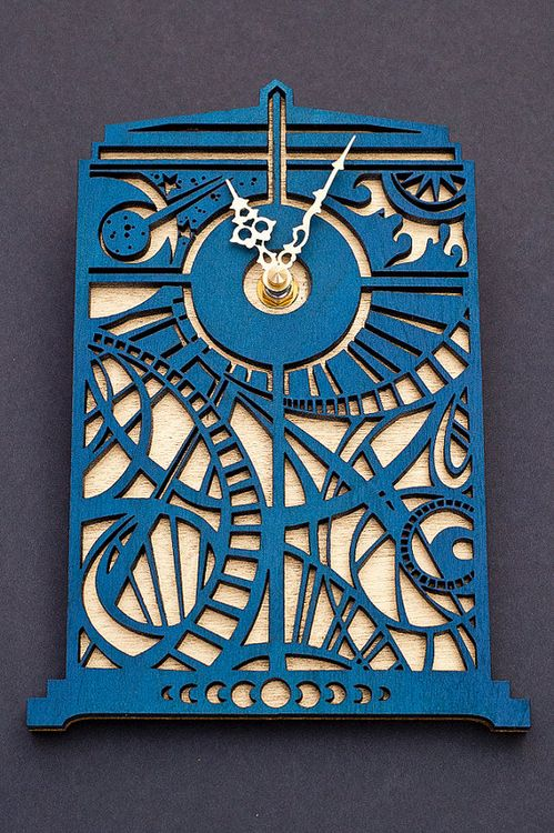 @Roger Puente Pinedo we can have the Gallifreyan clock in one room, and this in another. ;)