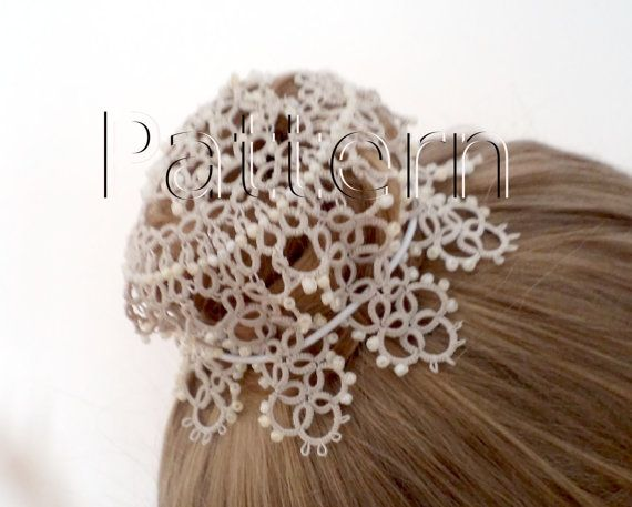 PDF Tatting pattern Hair Net Star by JTatter on Etsy