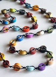 beading ideas - Google Search  rolled paper beads