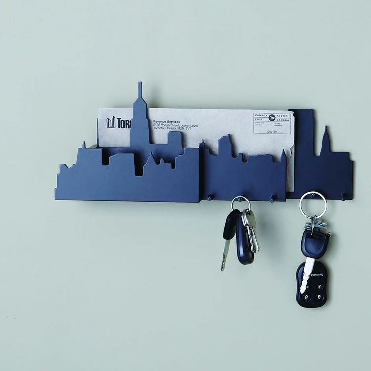 Nexxt : Cityscape Wall Mounted Key and Mail Hold | Sumally