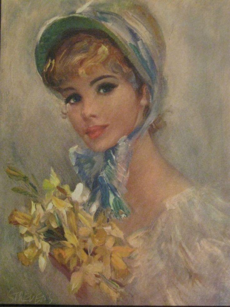 John Frederic Lloyd Strevens  - Page 2 9532812f906ea75292e5cf9c3e61c0ad--face-art-beautiful-paintings