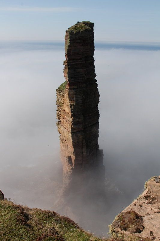 A stunning atmospheric photo of the Old Man of Hoy from Tony Burkitt