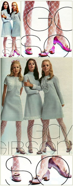 Nothing like the 60's fashions. There was nothing to be compared with the comfort of these dresses!❤❤❤