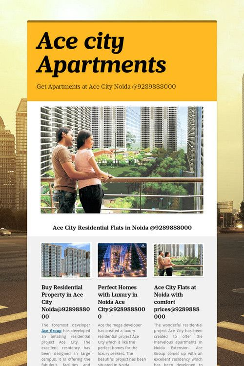 Ace city Apartments
