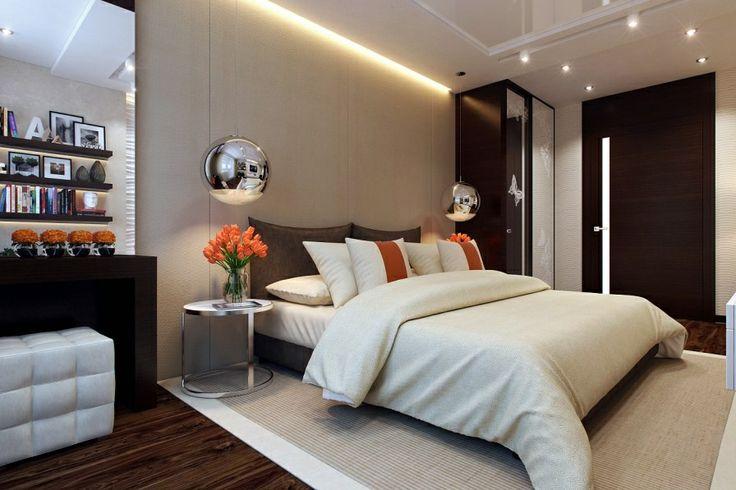 Modern Small Bedroom woven bedroom rug