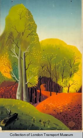 How bravely autumn paints upon the sky, by Edward McKnight Kauffer, 1938