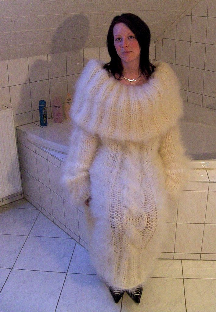 Mohair sweater fetish cause not,are