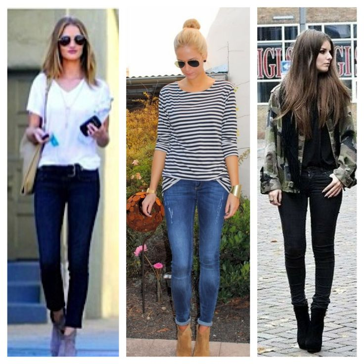 how to wear skinny jeans for short legs
