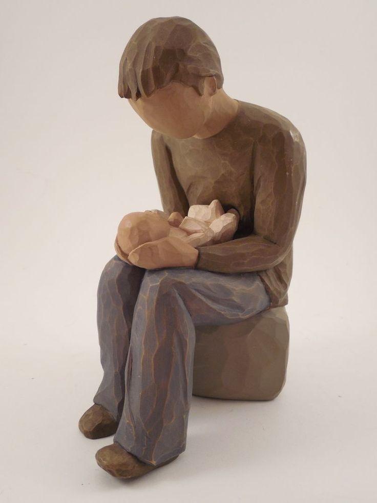 "Demdaco Willow Tree ""New Dad"" Figurine 2004 Susan Lordi"