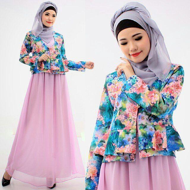 295 best images about baju muslim terbaru on pinterest Baju gamis santai