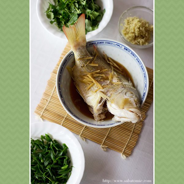Sabrina Wong | Chinese Steamed Fish – Food Photography Challenge [June 2012]