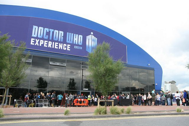 Doctor Who Experience - Cardiff, UK - on my travel bucket list <-- Mine, too, now. HOW DOES THIS EXIST.