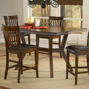 Heightened Dining Craftsman Style Board By Lasting Classics Counter Height SetsExtension TableDining Room