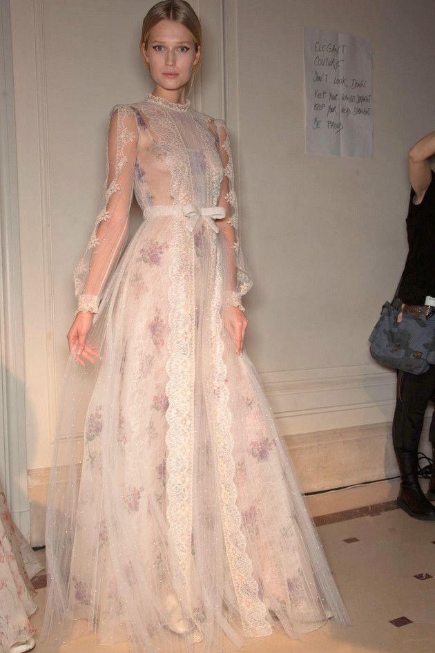 Valentino Haute Couture spring 2012 show