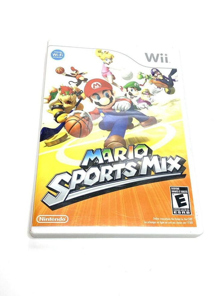 2 Lot Nintendo Wii Complete Games WII PLAY & Wii SPORTS