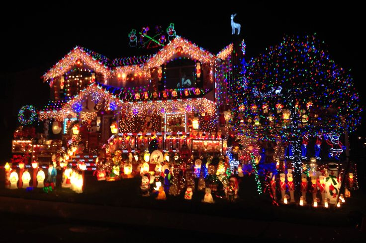 "One of the competitors in ABC's ""The Great Christmas Light Fight"" is this house in New York. Description from stltoday.com. I searched for this on bing.com/images"