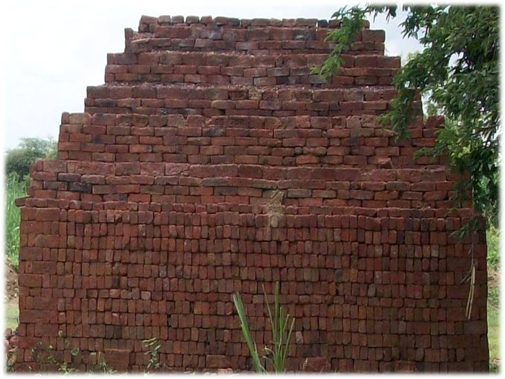 This how the Bricks becomes available for building use..... #bricks making #bricks #building with bricks