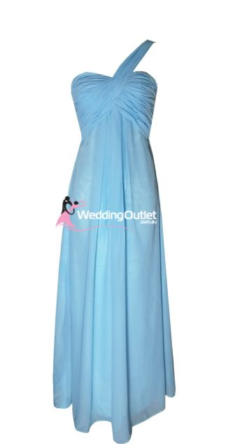 Baby Blue Bridesmaid Dresses Style #F101 $99.95  This website has lots of different styles and colours available!