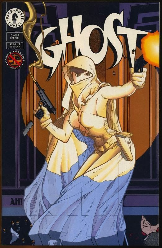 One of the best series Darkhorse Comics ever put out, Ghost