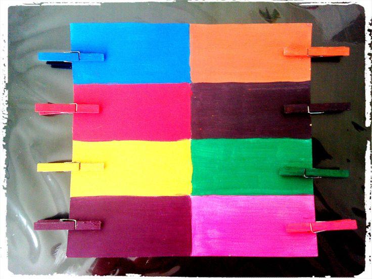 jeu couleur, motricité fine, bricolage enfant