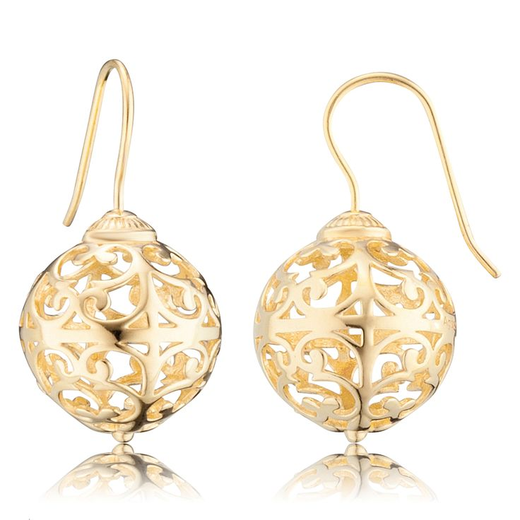 Engelsrufer drop earrings gold $129.00 Click to open. Earrings made of gold plated 925 sterling silver. Size: approx. Ø15mm. Other material: rose gold and silver