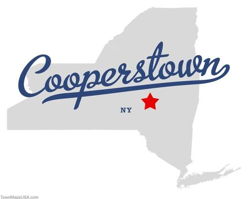 cooperstown   Map of Cooperstown New York NY