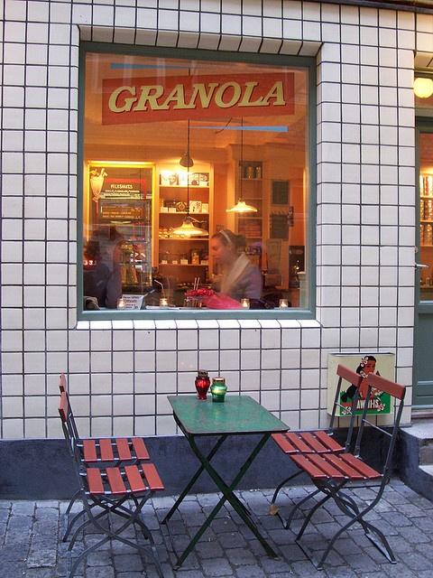 "Granola Café   Copenhagen .................... #GlobeTripper®   https://www.globe-tripper.com   ""Home-made Hospitality""   http://globe-tripper.tumblr.com/"