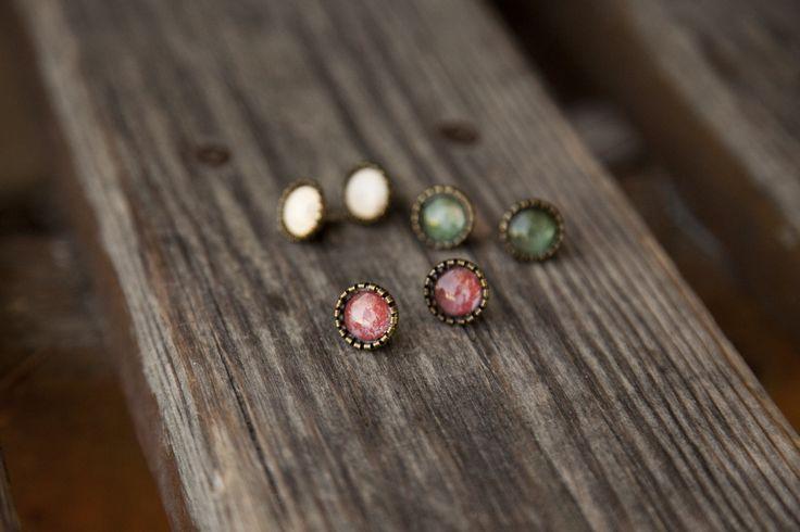 Ilianne | Jewelry Made of Love - Set of 3-Color Stud Earrings