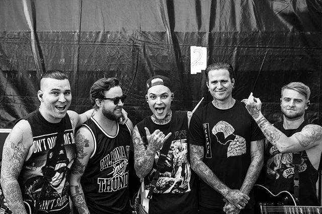 The Amity Affliction I can't wait to finally see and meet them in September!!