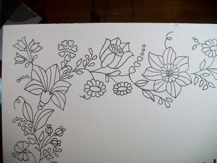 folk patterns to embroider - Buscar con Google