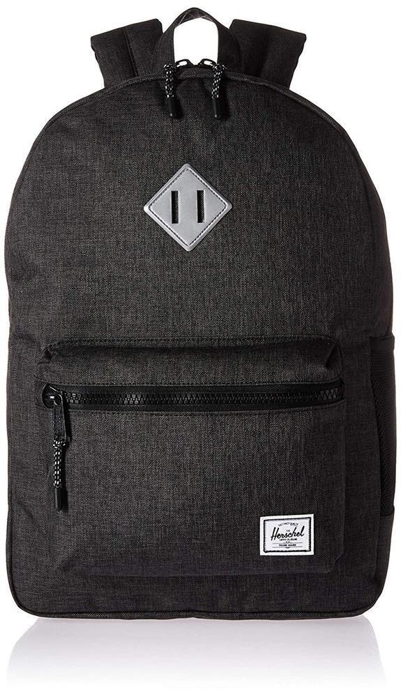 399bba6af1e Herschel Supply Co. Kids Heritage Youth XL Backpack Black Silver Rubber  Book Bag  HerschelSupplyCo  Backpack  shopping  art  black  favorite  style   fashion ...