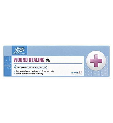Boots Pharmaceuticals Boots Wound Healing Gel (20ml) 10130229 16 Advantage card points. FREE Delivery on orders over 45 GBP. (Barcode EAN=5045093917229) http://www.MightGet.com/april-2017-1/boots-pharmaceuticals-boots-wound-healing-gel-20ml-10130229.asp