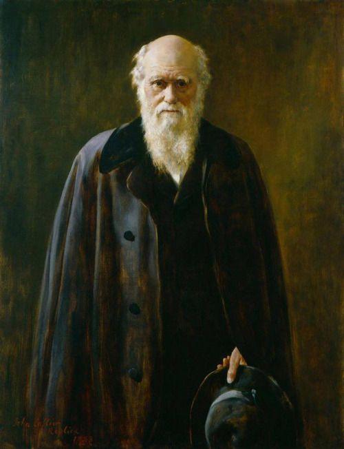 "John Maler Collier Charles Robert Darwin """