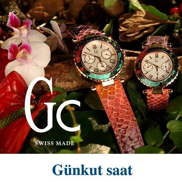 Özel sedefli kadranı ve büyüleyici rengiyle Gc bayan saati, Günkut Saat'te…  http://www.gunkutsaat.com/?urun-45848-g-c-kol-saati