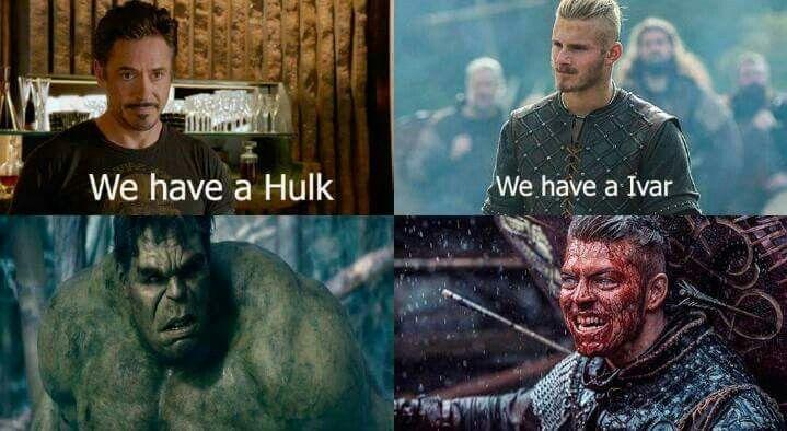 Fear Ivar The Boneless #Vikings #meme