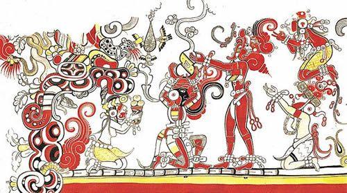 murales mayas - Buscar con Google