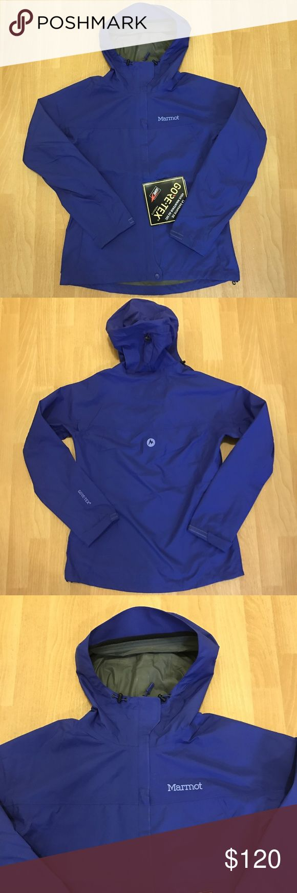 Women's Marmot Minimalist Gortex Rain Jacket NWT! Marmot Minimalist Womens Rain Jacket Gore-tex Royal Blue Small New with tags Color - Royal Night Marmot Jackets & Coats