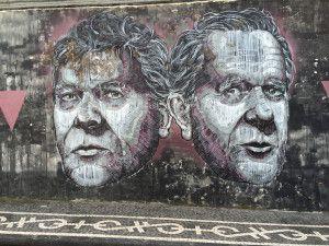 Grafittis em Ponta Delgada, São Miguel, Açores
