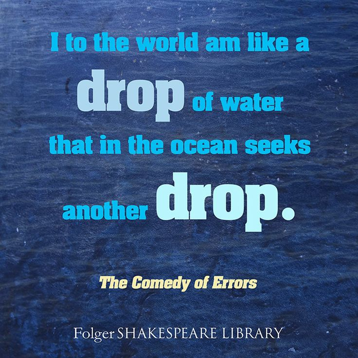 Find this #Shakespeare quote from The Comedy of Errors at www.folgerdigitaltexts.org #FolgerDigitalTexts