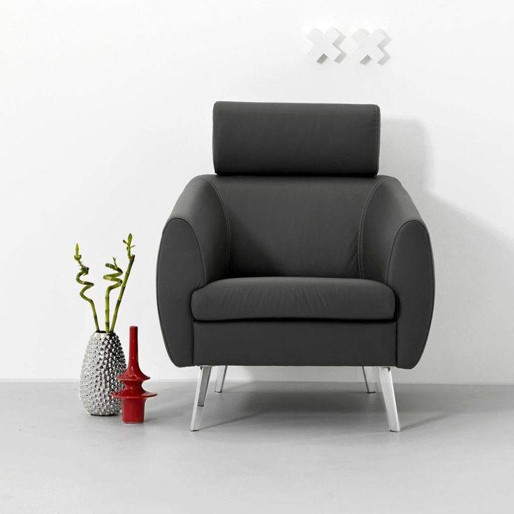 1000 images about mont l fauteuils on pinterest door de met and van - Zetel leer metaal ...