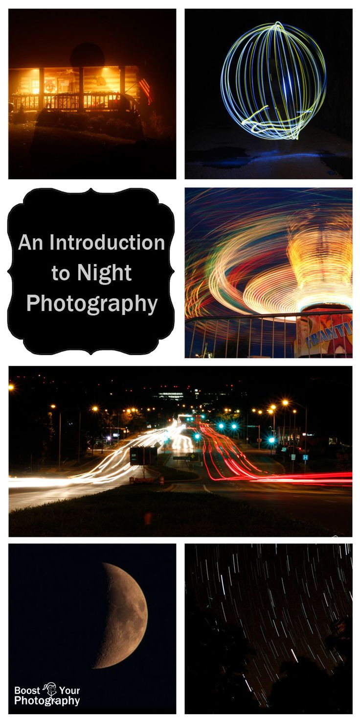 An Introduction to Night Photography | Boost Your PhotographyAstrophotography, moon photography, light painting, and more!