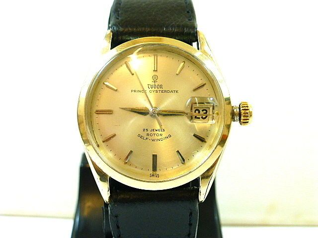 #Forsale 1960s Gents Gold Plated #Rolex Tudor Prince Oysterdate Automatic for Repair #Auction @$391.46