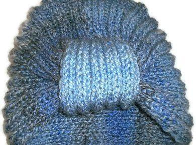 Czapka damska turban - Edyta-86 - Czapki