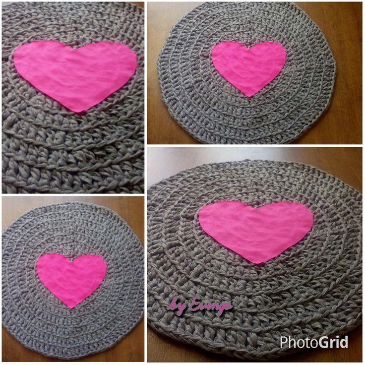 Pink-Szürke szőnyeg