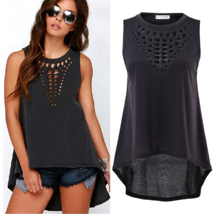 Cheap blouse chiffon, Buy Quality shirts with big collars directly from China blouse pink Suppliers:        2016 Zanzea Summer Style New Fashion Tank Tops Sexy Women Colorful Feather Print Sleeveless O-neck Vests Bl