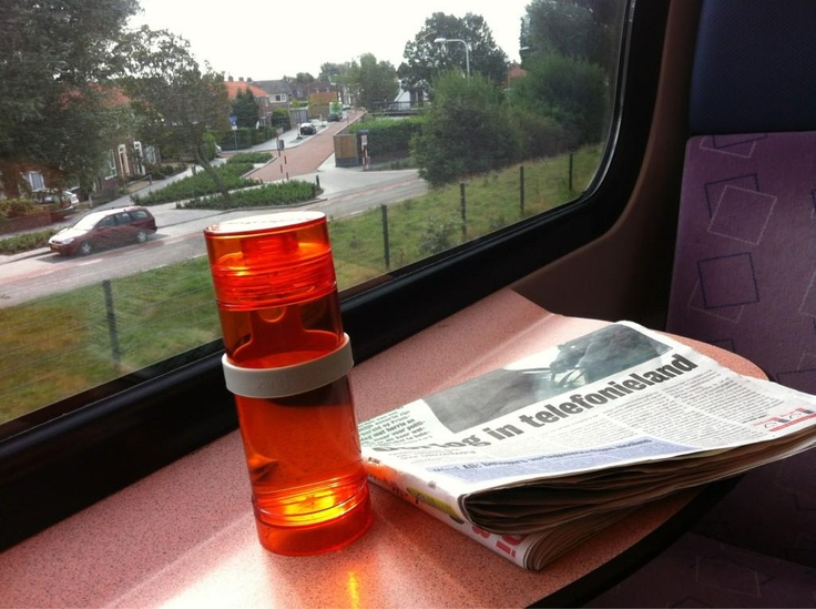 Jtp in de trein